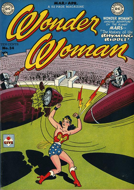 Wonder Woman No. 34, MAR/APR 1949