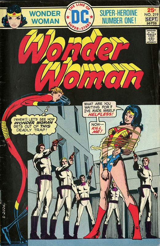 Wonder Woman: World of Enslaved Women no. 219, AUG/SEP 1975
