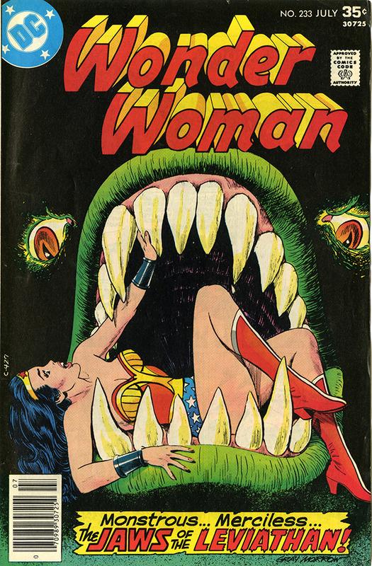 Wonder Woman: Seadeath no. 233, JUL 1977