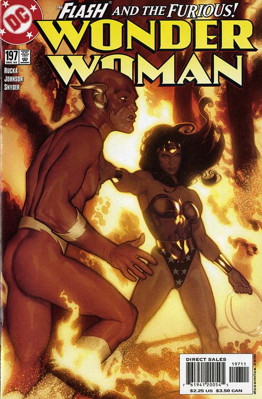 Wonder Woman: Down to Earth no.197 DEC 2003