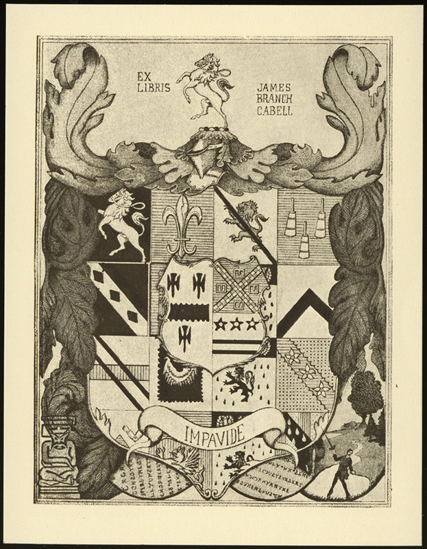 Bookplate, James Branch Cabell