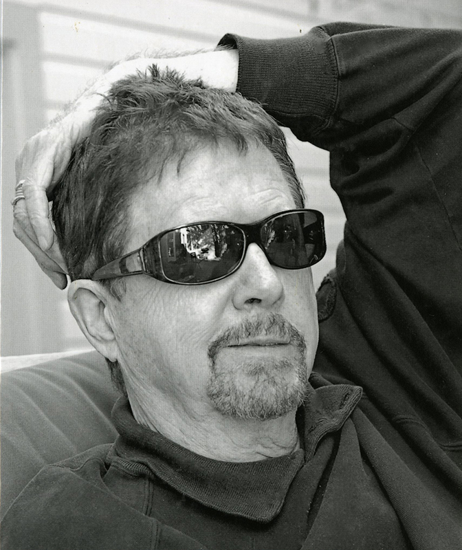 Photo of Tom Robbins from the cover of Conversations with  Tom Robbins