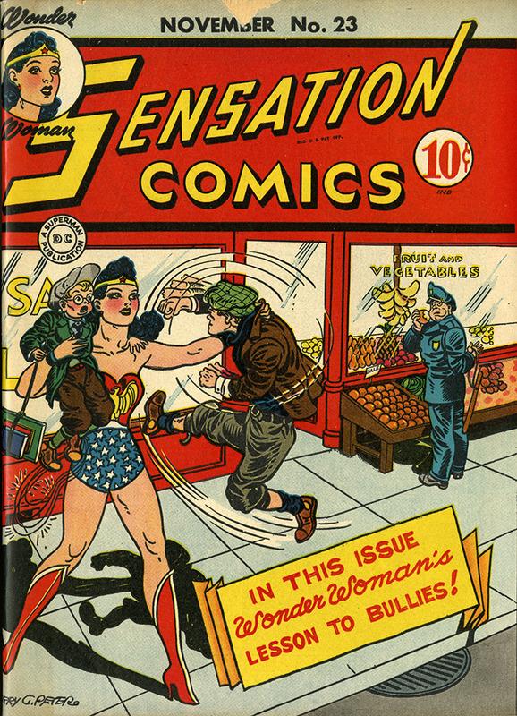 Sensation Comics No. 23, November, 1943