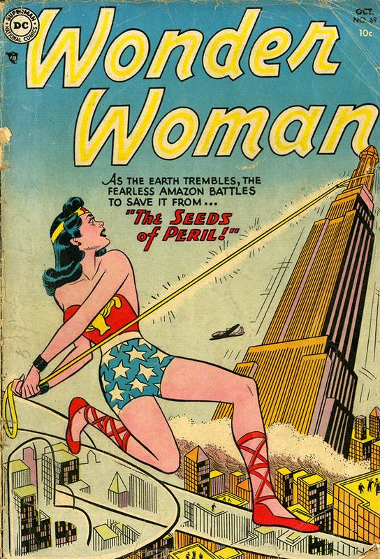 Wonder Woman: Seeds of Peril no.69 OCT 1954