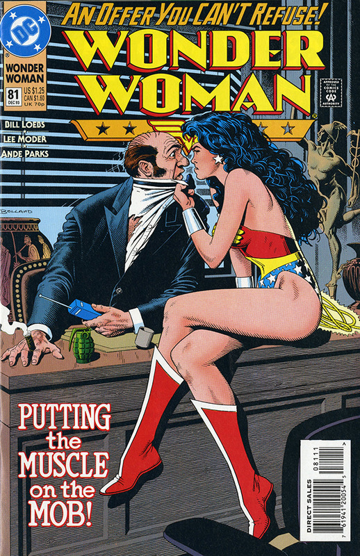 Wonder Woman: And Then She Fell to Earth no.81 DEC 1993