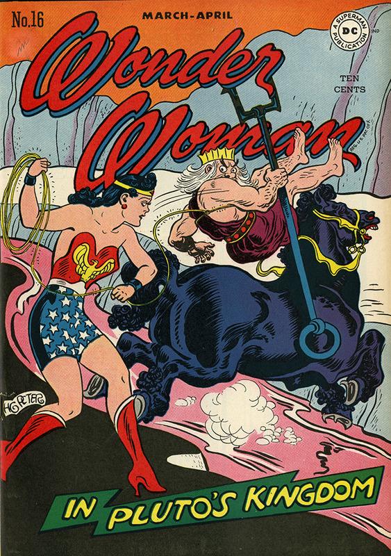 Wonder Woman, No. 16, MAR/APR 1946