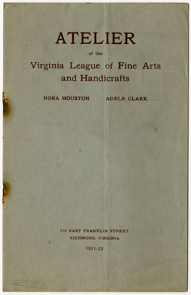 VCU_M 9 B243 f1 Atelier Virginia League of Fine Arts and Handicrafts booklet cover rsz.jpg