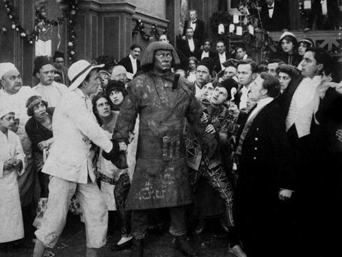 Paul Wegener as  The Golem
