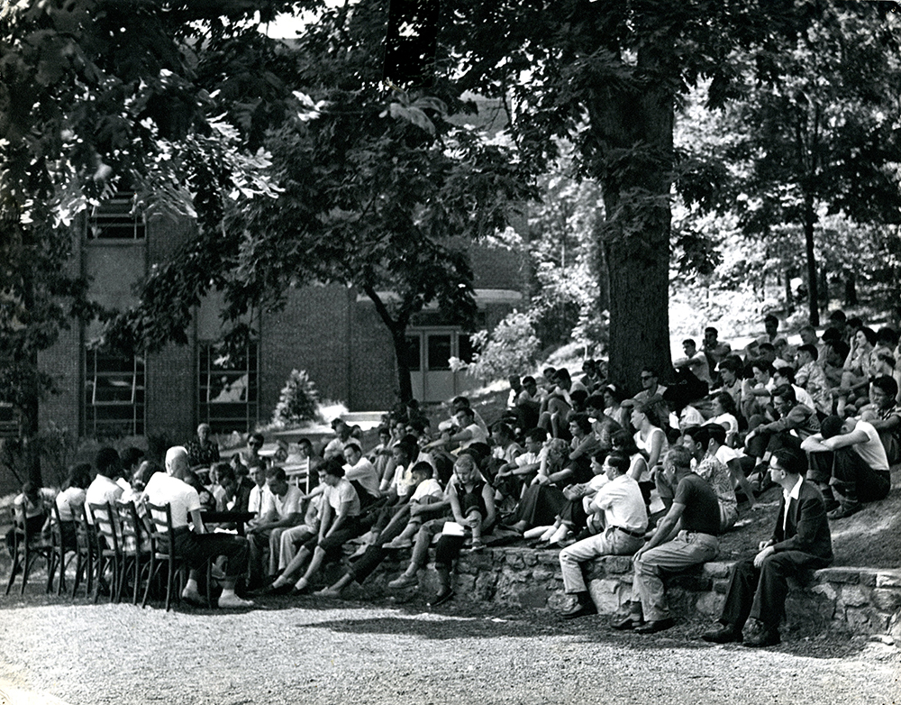 Lecture under the Freedom Tree, Fieldston School