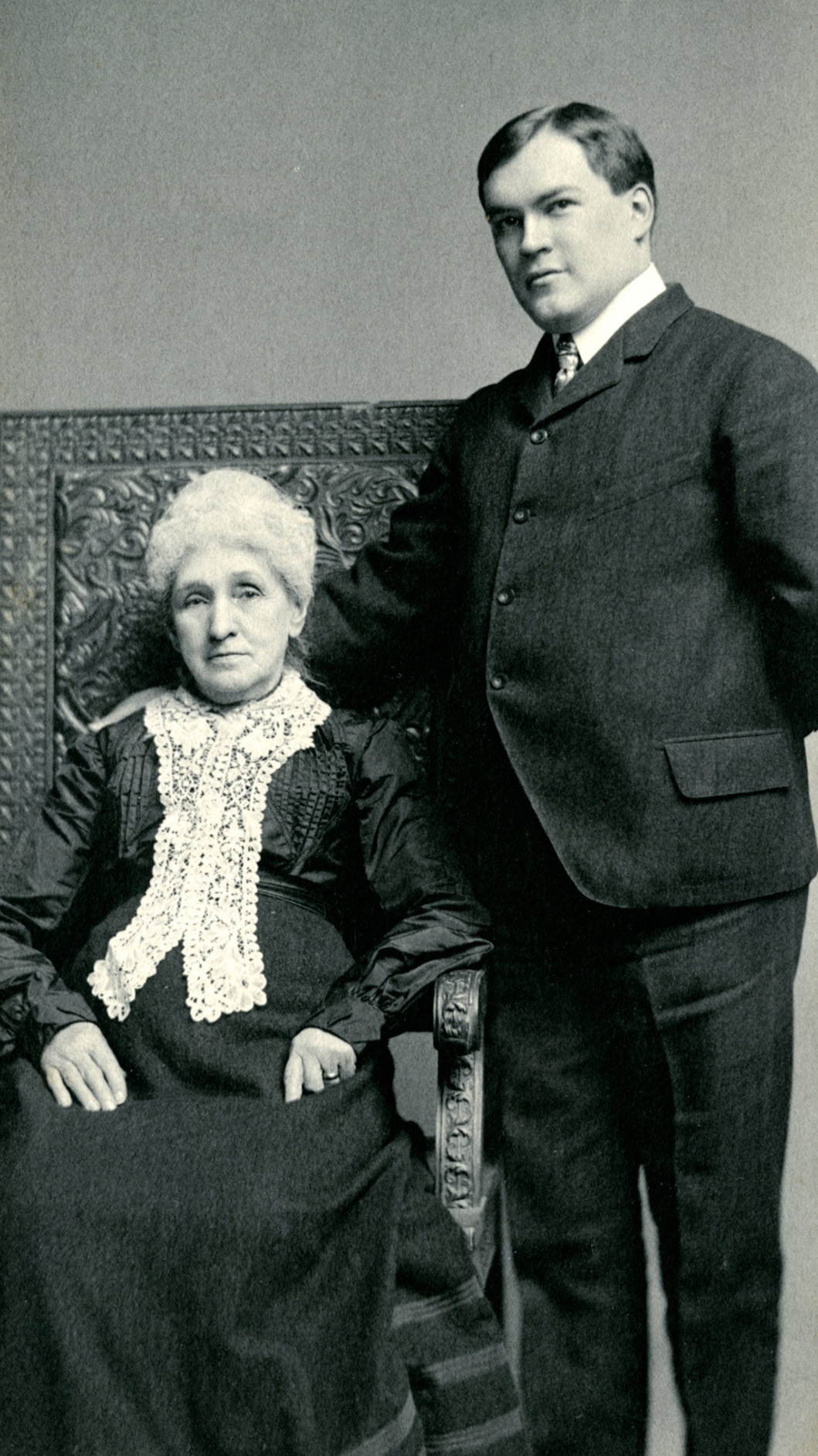 James Branch Cabell with grandmother_1904.jpg