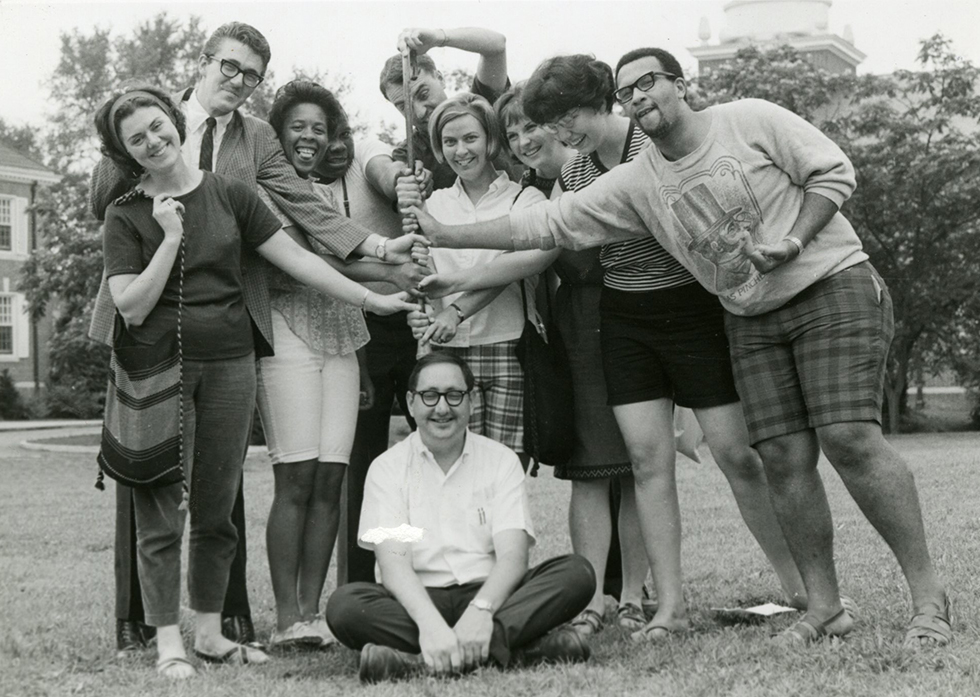 Ed Peeples and the staff of KY 1966