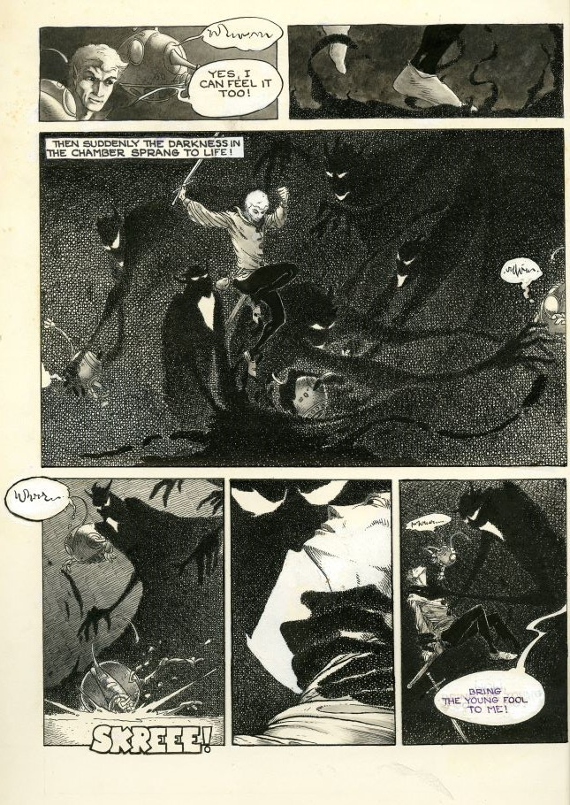Jack Tales, page 5, Charles Vess papers, M 374