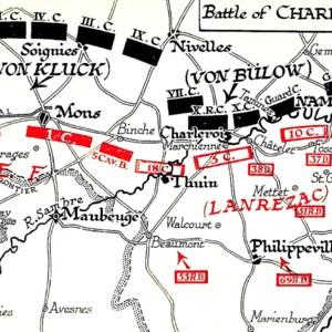 Battle of the Sambre (Charleroi-Mons) August 1914