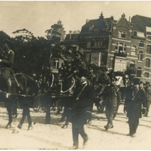 Funeral Procession for Edith Cavell