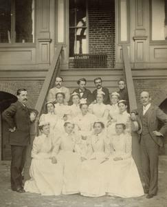 Virginia Hospital Nurses, 1898