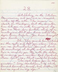 Handwritten notebook No.4, Even Cowgirls Get the Blues