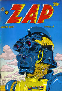 Zap Comics:  no.7  1974
