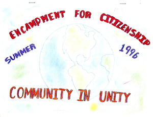 Encampment for Citizenship Yearbook, 1996