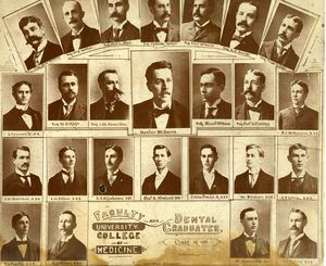 UCM Dental class of 1896