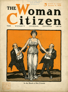 Woman Citizen January 5 1918 In the hands of her friends.jpg