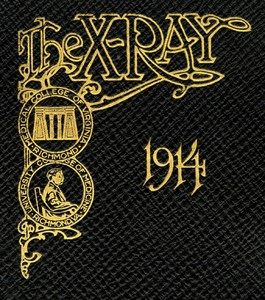 MCV and UCM yearbook cover, 1914