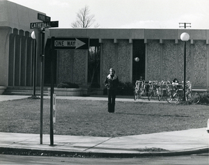 James Branch Cabell Library c.1971, single story construction