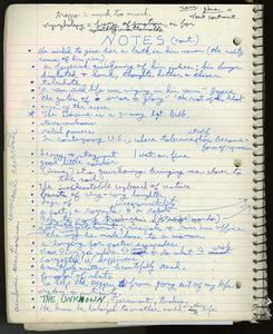 Top Flight Earthbound spiral notebook