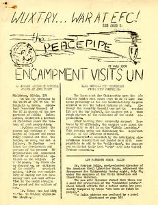 The Peacepipe, Student publication, Encampment for Citizenship, 1950