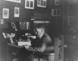 James Branch Cabell's writing desk, Cabell Room, James Branch Cabell Library