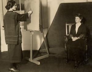 VCU_M 9 Box 238 Adele Clark painting Maud Wood Park 1920s rsz.jpg