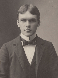 James Branch Cabell at age 14