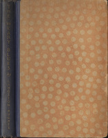 Spine and Front cover of Hunter Stagg's copy of <em>The Weary Blues</em> by Langston Hughes, 1926.