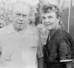 James Branch Cabell and Margaret Freeman Cabell, 1950s
