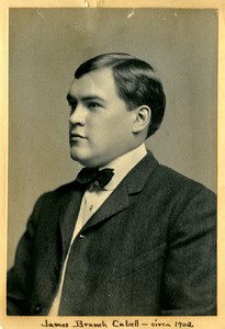 James Branch Cabell, c.1902, age 23