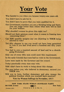 M71 Your Vote NY State Woman Suffrage Party handbill rsz.jpg