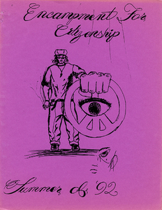 Encampment for Citizenship Yearbook, 1992