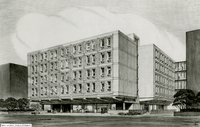 Theresa Pollak Building, Architects' Drawing