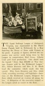 VCU_Woman Citizen article April 20 1918 ESL Thrift Day float rsz.jpg