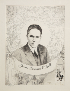 James Branch Cabell by Frank C. Papé