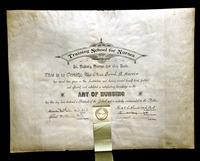 Sarah B. Harvie diploma