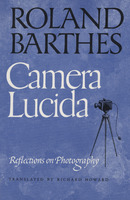 Front cover of Larry Levis' copy of <em>Camera Lucida</em> by Roland Barthes, 1981.