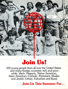 Encampment for Citizenship poster, 1981